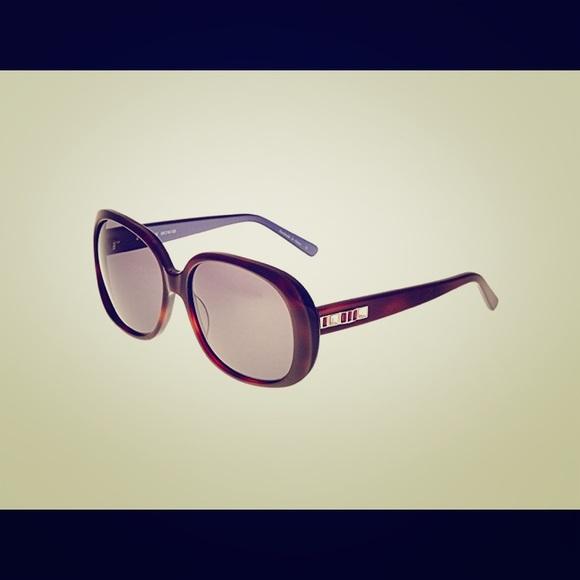 b2fa364b65 NWT Judith Leiber JL5004 00 Hematite Sunglasses